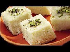 जब कुछ हल्का मीठा खाने का मन हो तो बनायें ये 10 मिनट में बहुत टेस्टी मिठाई Kalakand Recipe - YouTube Healthy Dessert Recipes, Sweets Recipes, Easy Desserts, Cooking Recipes, Diwali Recipes, Delicious Recipes, Cooking Tips, Tasty, Indian Desserts