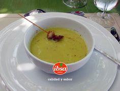 Deliciosa #cremadeguisantes @ibsabierzo
