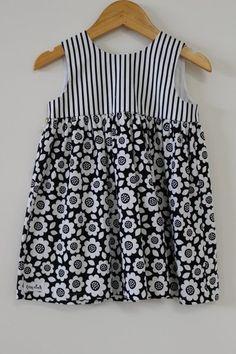 Image of Black Floral Dress