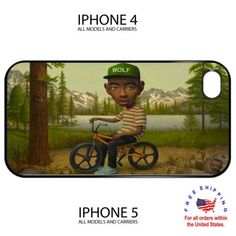 Tyler the Creator Wolf Album odd future iphone 4 4s 5 hard case