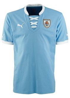 Uruguay (Asociación Uruguaya de Fútbol) - 2013 Confederations Cup Puma Home Shirt