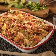 Jalapeno Popper Pasta Bake | Ready Set Eat