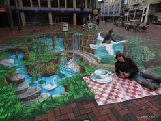 3D Street Art                                                                                    |AmazingStreetArt|