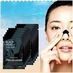 10x Mineral Mud Nose Blackhead Pore Cleansing Cleaner Removal Membranes Strips #CharcoalMaskBenefits