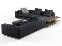 Minotti Freeman Corner Sofa System C Corner sofas computer generated model. Designed by Rodolfo Dordoni. Produced by Design Connected. Living Room Sofa Design, Bedroom Bed Design, Living Room Modern, Living Room Designs, Selling Furniture, Sofa Furniture, Pallet Furniture, Furniture Design, Design Connected