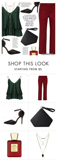 """""""Party Look"""" by tasnime-ben ❤ liked on Polyvore featuring The Row, Bella Bellissima and Tiffany & Co."""