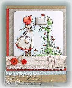 01-11-13 ADFD Bonnet Mail (by Broni Holcombe)  #ADayForDaisies, #ADFD