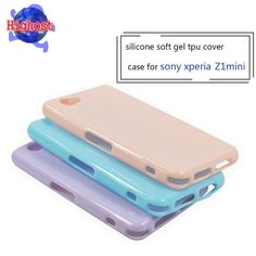 New !!!!!silicone soft gel tpu cover case for sony xperia z1 compact case