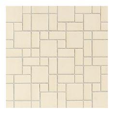 Daltile Keystones Blends 2 X 1 Plain Porcelain Mosaic Tile In Almond Tiles
