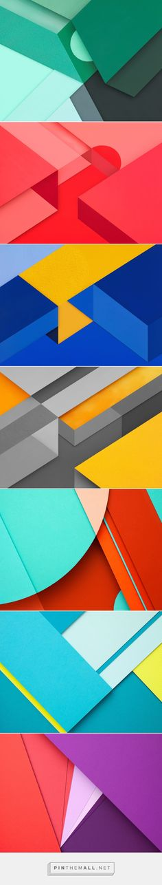 Photographer Carl Kleiner's colourful handcrafted paperscapes for AndroidMarshmallow
