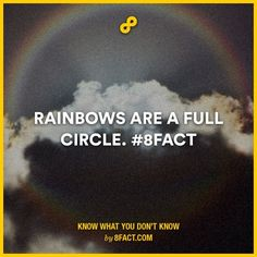 Never taught of that  Rainbow