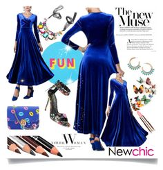 """#Newchic"" by bellamonica ❤ liked on Polyvore featuring Lisa Perry, Danielle Nicole, Nicole Miller, chic, New and newchic"