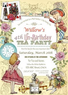 Penny's Parties: Mad Hatters Tea Party
