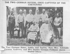 Rescue of the German Sisters from the Cheyenne in Gray County, TX (four sisters taken captive by Native Americans)