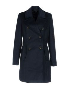 Vero Moda Women Coat on YOOX. The best online selection of Coats Vero Moda. YOOX exclusive items of Italian and international designers - Secure payments Coats For Women, Double Breasted, Dark Blue, Suit Jacket, Long Sleeve, Sleeves, Cotton, Jackets, Shopping