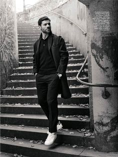 Male Fashion Trends: Xabi Alonso para GQ España Febrero 2016 por Richard Ramos