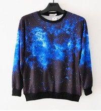 Unisex Starry Galaxy Sweater