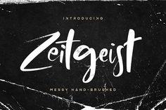 Zeitgeist Font [25% OFF] by Hindia Studio on @creativemarket