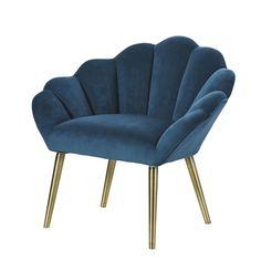 This furniture product is made of FSC certified wood. This label guarantees that the wood comes from a responsibly managed forest; by choosing this pr Teal Living Rooms, Living Room Green, Living Room Chairs, Teal Armchair, Green Velvet Armchair, Cocktail Chair, Vintage Stil, Peacock Blue, Mid Century Style