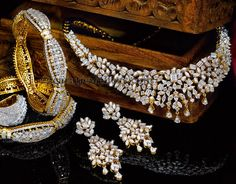 Jewellery Designs: Complete Diamond Set by Reliance