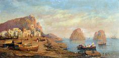 Panorama dal Golfo par Consalvo Carelli (1818-1910)