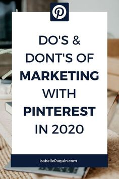 Pinterest Marketing Strategy 2020 // Isabelle Paquin -- #pinteresttips #pinterestmarketing
