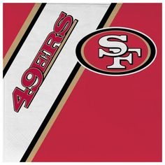 Complete your picnic or tailgate party with this pack of 20 disposable napkins. This pack of officially licensed NFL napkins features your favorite teams logos and colors. The napkins are inches in size. Each pack includes 20 napkins. Made By Duck House Nfl 49ers, Nfl Football, Man Cave Furniture, San Francisco 49ers, Paper Napkins, American Football, Collection, Wood Work, Cloths