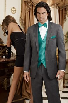 Squires Formalwear - Weddings - Tuxedos - Formalwear - Jean Yves Steel Grey Moda