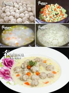 Seasoned Sour Meatballs Recipe, How To? – Womanly Recipes – Delicious, Practical and Delicious Food Recipes Site - Rezepte Ideen Meatball Recipes, Beef Recipes, Cooking Recipes, Healthy Eating Tips, Healthy Nutrition, Falafels, Turkish Recipes, Italian Recipes, Bulgur Salad