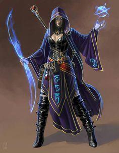 Elvira Shadowmantle (Shar Priestess)
