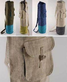 cute yoga mat bags
