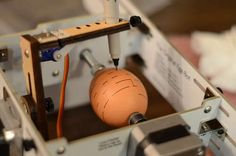 Want! Nay...NEED the egg-bot.