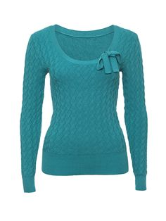 Ava Jumper in Teal Casual Work Outfits, Work Casual, Cute Outfits, Autumn Clothes, Cute Blouses, Review Fashion, Girls Wardrobe, Diva Fashion, Blue Tops