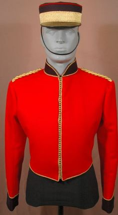 British Royal Engineer Undress Uniform, circa 1862. Heritage Toronto, Fort York Display.