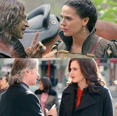 Rumplestiltskin and Regina