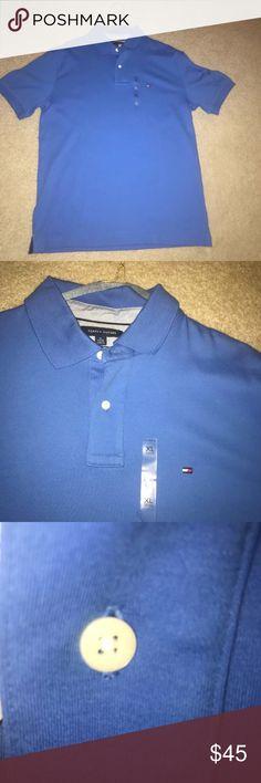 tommy hilfiger men polo shirt tommy hilfiger men polo shirt size xl custom fit Tommy Hilfiger Shirts Polos