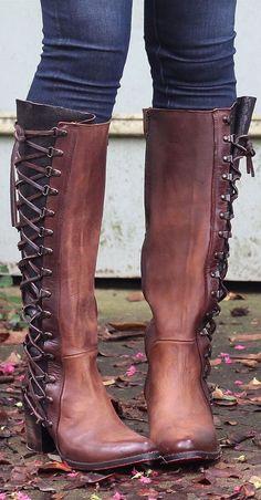 Lace-Up Boots ❤︎ L.O.V.E.                                                                                                                                                     More