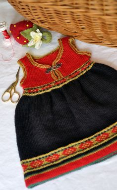Norwegian doll dress