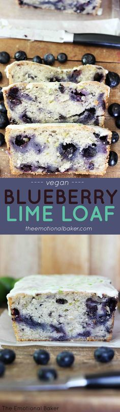 Blueberry Lime Loaf