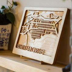 This highly detailed map shows the streets, trails and buildings of downtown Whitehorse. ~~~~~~~~~~~~ #yxy #exploreyukon #madeinyukon #yukonmade #yukonbuilt #whitehorse #yukonmaps #lasercut #downtownwhitehorse #homedecor #woodmap Buildings, Map, Street, Frame, Home Decor, Picture Frame, Decoration Home, Room Decor, Location Map