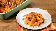 Yam Pecan Crumble Recipe by Alisa Reynolds - The Chew