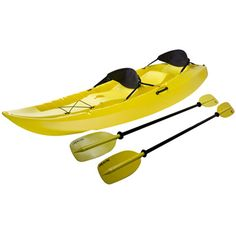Designed to seat up to 3 people, the Lifetime Products Manta Tandem Kayak is the perfect multipurpose recreational kayak. It provides comfortable, balanced seating for solo, tandem, or family fun. With a 500 lb weight capacity and the tunnel hull design, the Manta kayak provides ultimate stability, making it almost impossible to tip over. Complete with 2 soft backrests and 2 double sided paddles, you have everything you need to hit the water for your next adventure.'