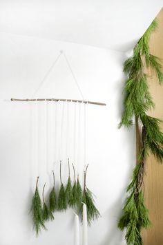 Christmas Pine Wall Hanging