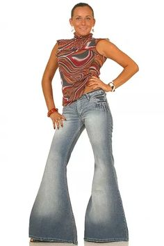 Big flare jeans Star Sixty 9 Bellbottom jeans