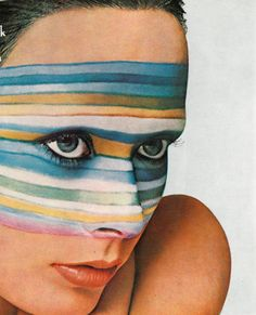 #houseofvintage   Striped Face