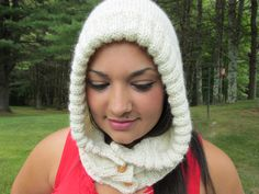 Alpaca Hood - pinned by pin4etsy.com