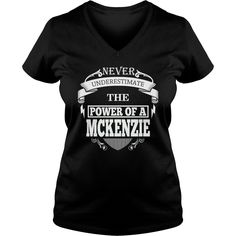 MCKENZIE - Never underestimate the power of MCKENZIE - MCKENZIE name - MCKENZIE Name Gifts - birthday gifts for MCKENZIE - MCKENZIE Shirts - MCKENZIE T-shirt - Best Sellers #gift #ideas #Popular #Everything #Videos #Shop #Animals #pets #Architecture #Art #Cars #motorcycles #Celebrities #DIY #crafts #Design #Education #Entertainment #Food #drink #Gardening #Geek #Hair #beauty #Health #fitness #History #Holidays #events #Home decor #Humor #Illustrations #posters #Kids #parenting #Men #Outdoors…