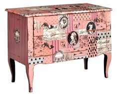 Florence commode. Customize items with any of our wide range of finishes, colors, and hand painted artwork. Any item can be painted in over million ways enabling items to be truly unique. The possibility are nearly endless and include stained, distressed, textured, antiqued, weathered and metallic finishes. In addition, artwork is available on most items. Items can be customized with any of our hand painted designs.#StevenShell