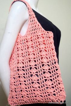 Free crochet pattern - Eunice Summer Bag
