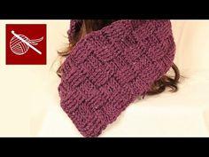 ▶ Sea Mist Stitch Baby Blanket, Shawl, Scarf Crochet Geek - YouTube